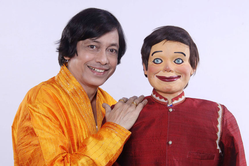 Ventriloquist Ramdas Padhye with his Famous Puppet Ardhavatrao