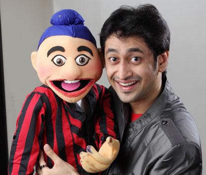 Satyajit Ramdas Padhye who is a Ventriloquist, Puppeteer and Puppet Maker
