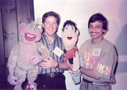 Jeff Dunham with Ventriloquist Ramdas Padhye