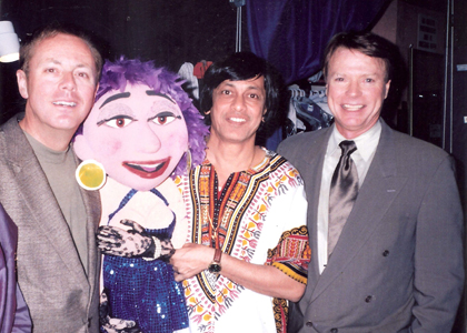 Ventriloquist Ramdas with Ronn Lucas and Jay Johnson
