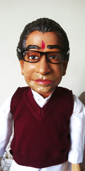 Raj Thackeray Puppet